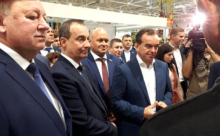 Алексей Кондратенко принял участие воткрытии IX агропромышленной выставки «Кубанская Ярмарка»