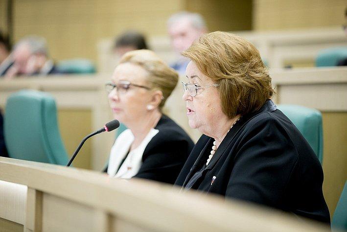 379-е заседание Совета Федерации Драгункина