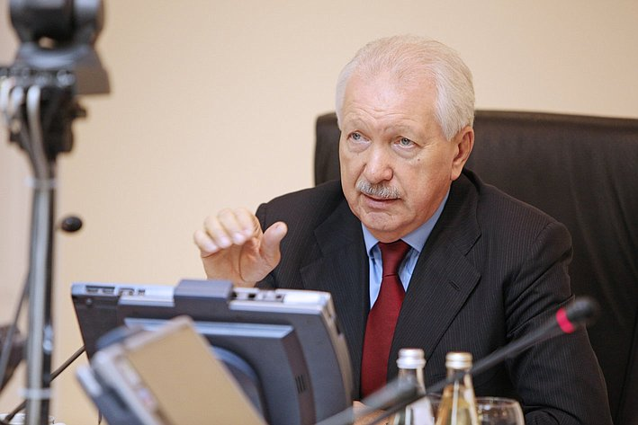 В. Торлопов на встрече  с представителями молодежных организаций