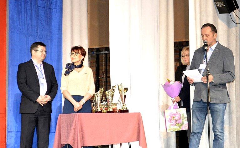 Т. Кусайко приняла участие внаграждении финалисток ежегодного конкурса профессионального мастерства среди медицинских работников медицинских организаций Мурманской области «Лучшая медицинская сестра Мурманской области»