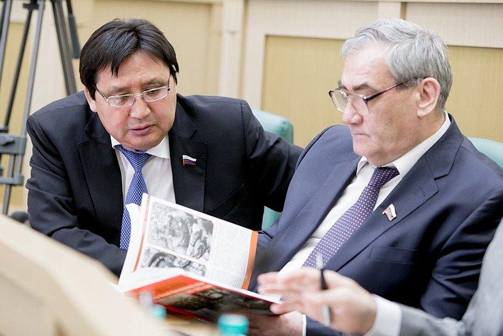 373-е Заседание Совета Федерации Акимов и Штыров
