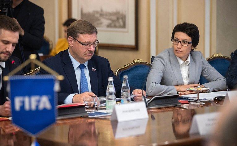 К. Косачев иТ. Лебедева