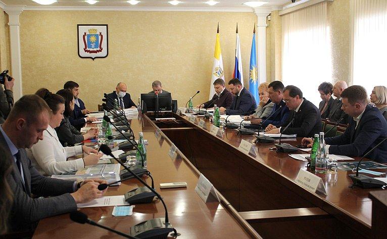 Анатолий Артамонов принял участие всовещании повопросам социально-экономического икомплексного развития федерального курорта