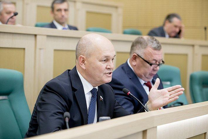 379-е заседание Совета Федерации Щетинин