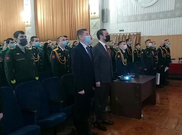 Андрей Шевченко посетил мероприятия Всероссийского месячника оборонно-массовой работы вОренбурге