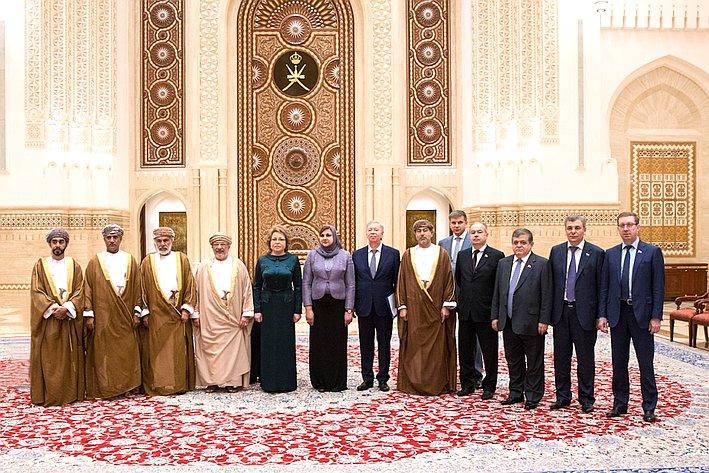 Визит делегации Совета Федерации вОман