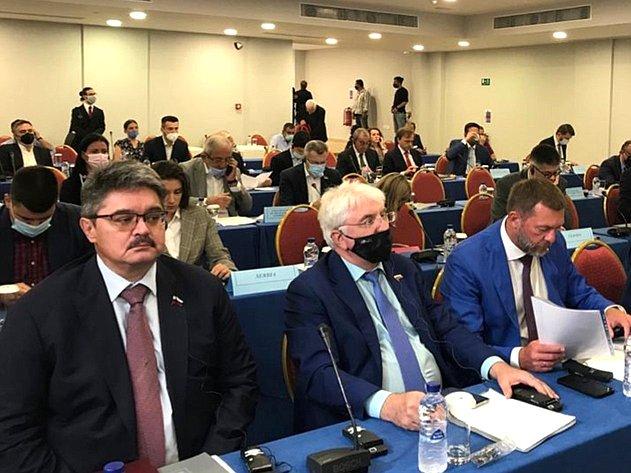 Анатолий Широков принимает участие в28-й Генеральной ассамблее Межпарламентской ассамблеи православия (МАП), проходящей нао. Крит (Греция)