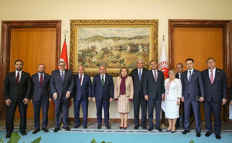 Официальный визит делегации Совета Федерации воглаве сВ. Матвиенко вТурецкую Республику