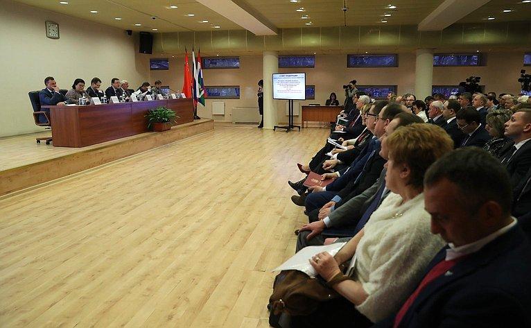 Выездное совещание натему «Опыт иперспективы развития местного самоуправления вМосковской области»