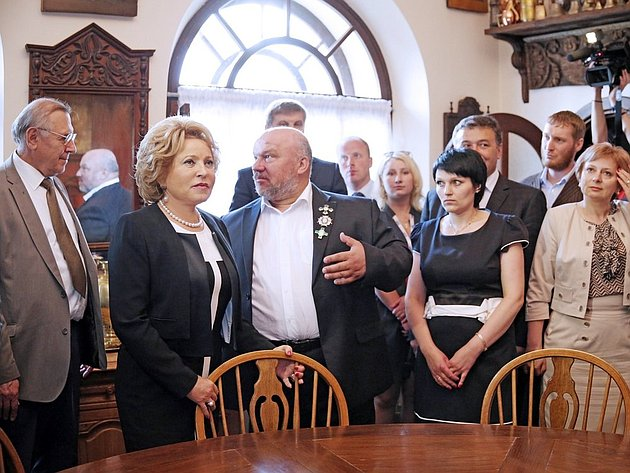 Визит В. Матвиенко в Обнинск