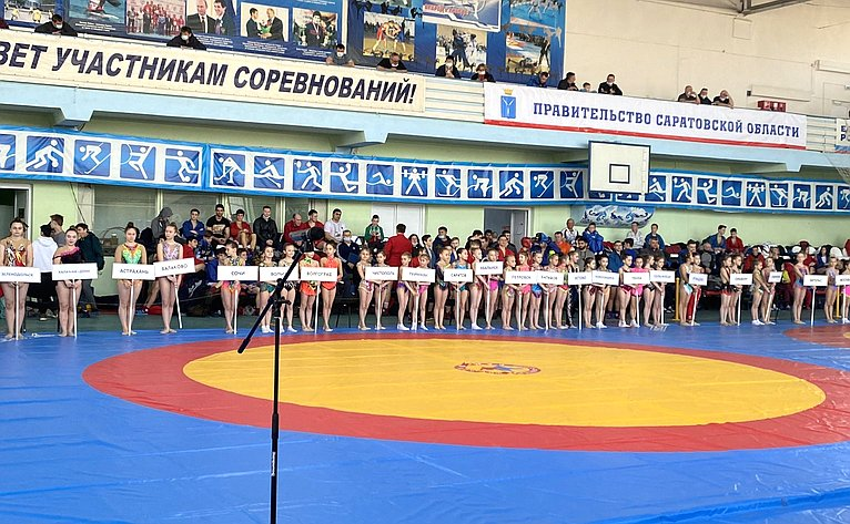 Всероссийские соревнования посамбо «Покровский» среди юношей идевушек 14–16 лет вгороде Энгельсе