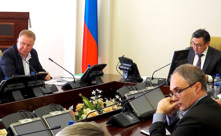 Вячеслав Наговицын принял участие всовещании повопросам реализации Постановления СФ «Огосударственной поддержке социально-экономического развития Бурятии»