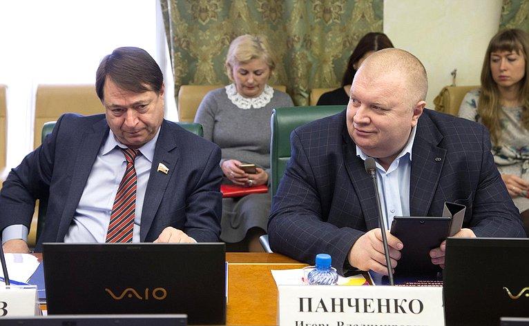 С. Шатиров иВ. Панченко