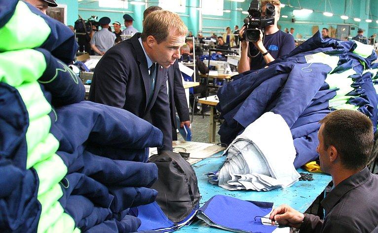 Группа сенаторов посетила УФСИН России поРеспублике Мордовия