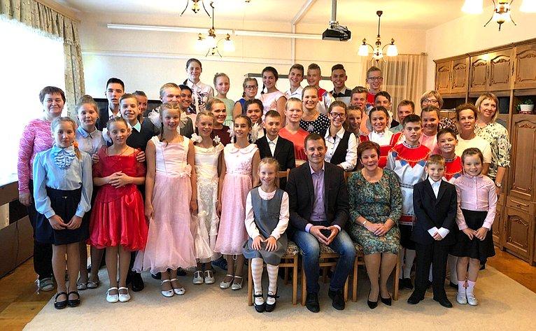 Дмитрий Шатохин посетил Детский дом №3 г. Сыктывкара