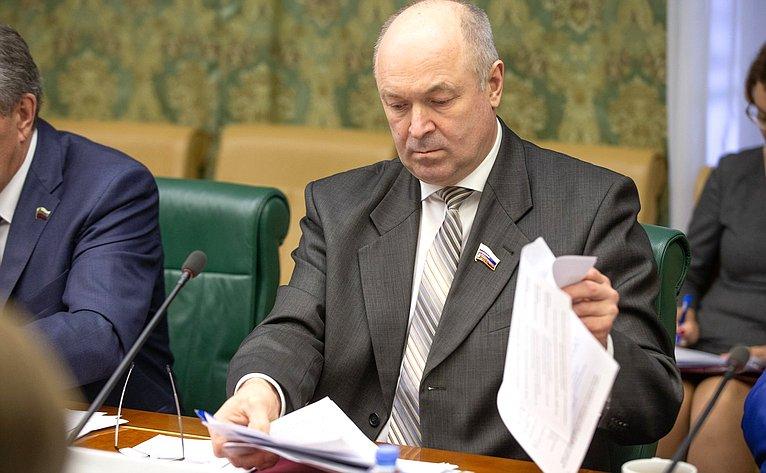 Заседание Комиссии Совета законодателей повопросам экономической ипромышленной политики