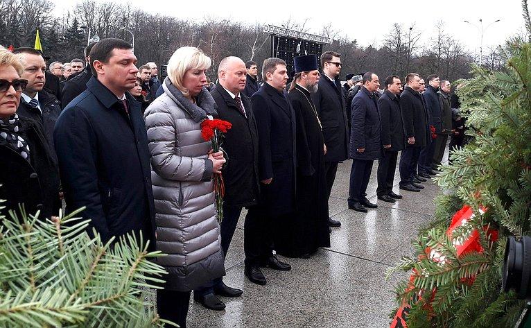 А. Кондратенко принял участие митинге, посвящённом 75-летию освобождения Краснодара отнемецко-фашистских захватчиков