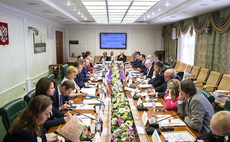 Встреча членов Комитета СФ поаграрно-продовольственной политике иприродопользованию спредставителями Германо-Российского аграрно-политического диалога