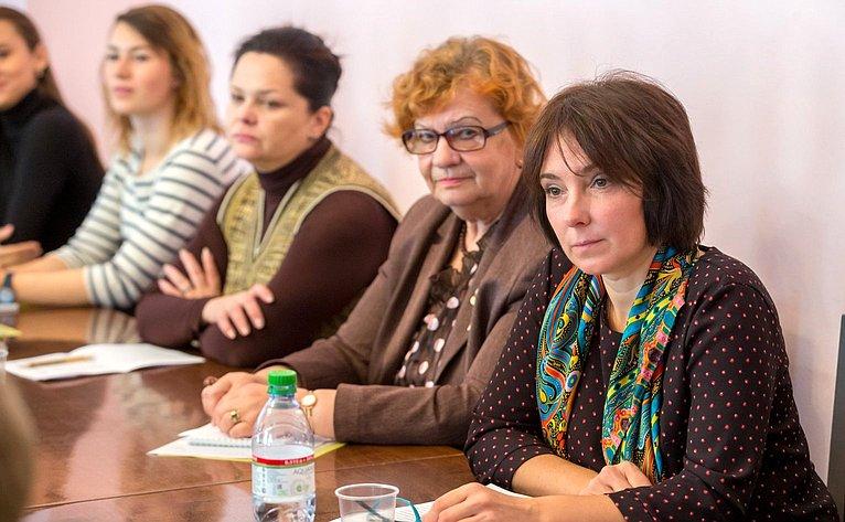 Научно-практическая конференция, посвященная женщинам, занимающимся научной деятельностью