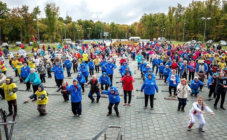 Валерий Рязанский принял участие вцеремонии открытия ипроведении IV Спартакиады пенсионеров России