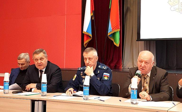 Александр Ракитин принял участие вработе конференции ветеранов Вооруженных Сил