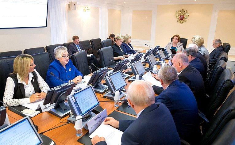 Заседание Комитета СФ понауке, образованию икультуре
