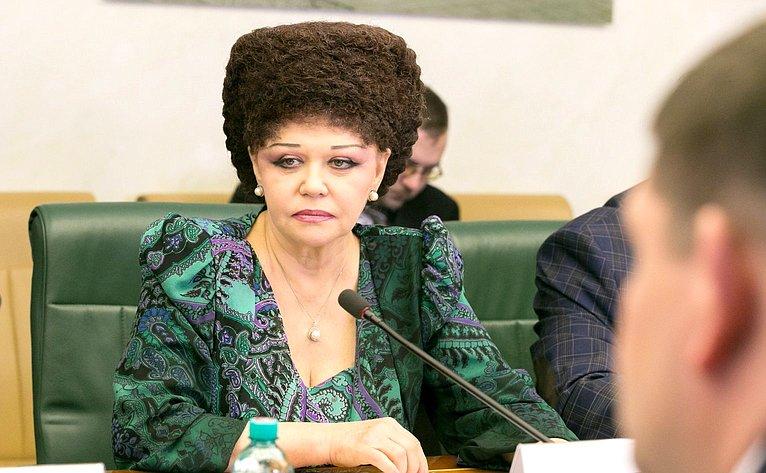 В. Петренко назаседании Комитета поддержки жителей Юго-Востока Украины