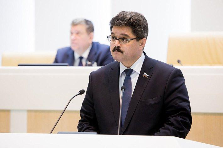 370-е заседание Совета Федерации А. Широков