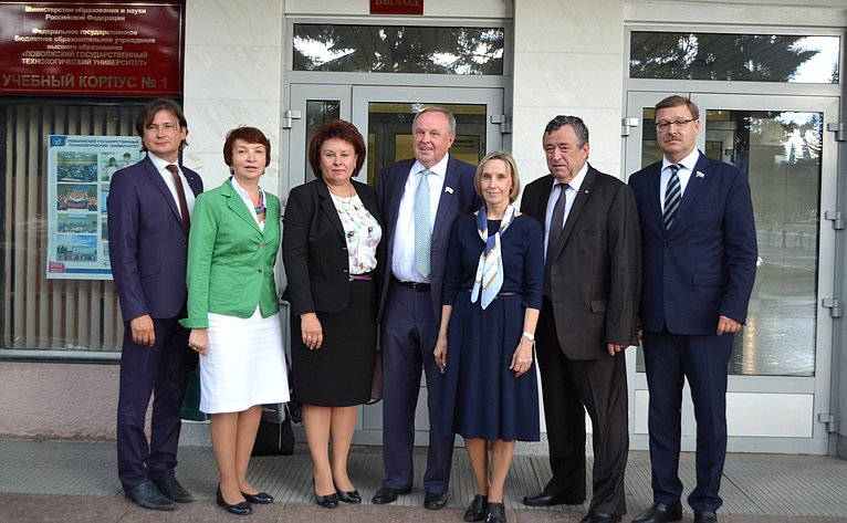 К. Косачев посетил Республику Марий Эл