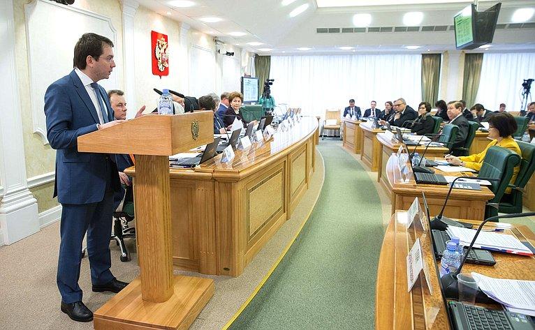 Заседание Совета повопросам жилищного строительства исодействия развитию жилищно-коммунального комплекса при СФ натему «Расселение аварийного жилищного фонда: итоги иперспективы»