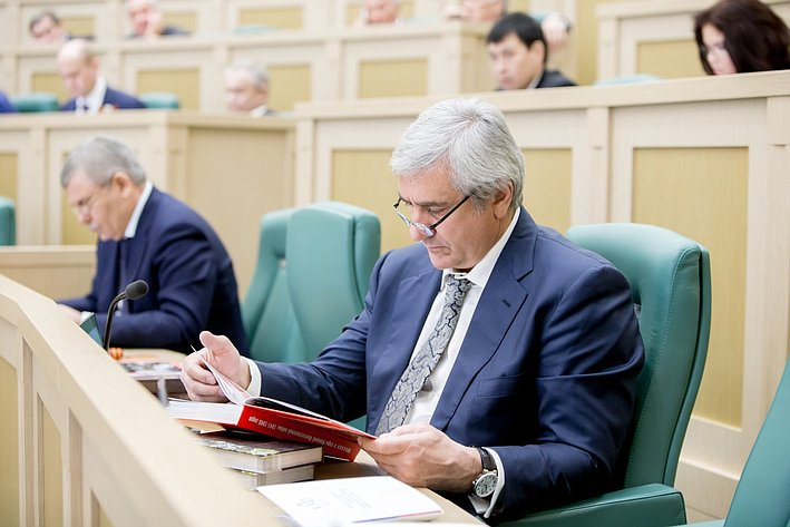 373-е Заседание Совета Федерации Паланкоев