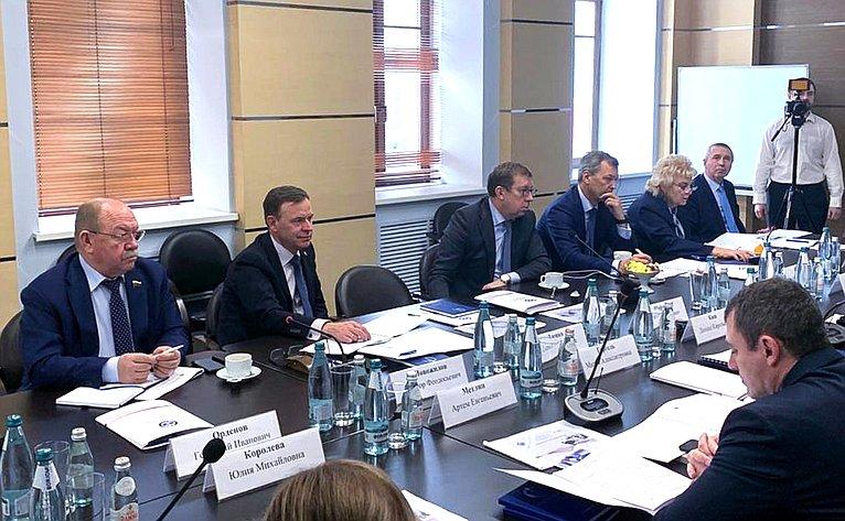 Сенаторы посетили испытательный центр Всероссийский государственный центр качества истандартизации лекарственных средств для животных икормов