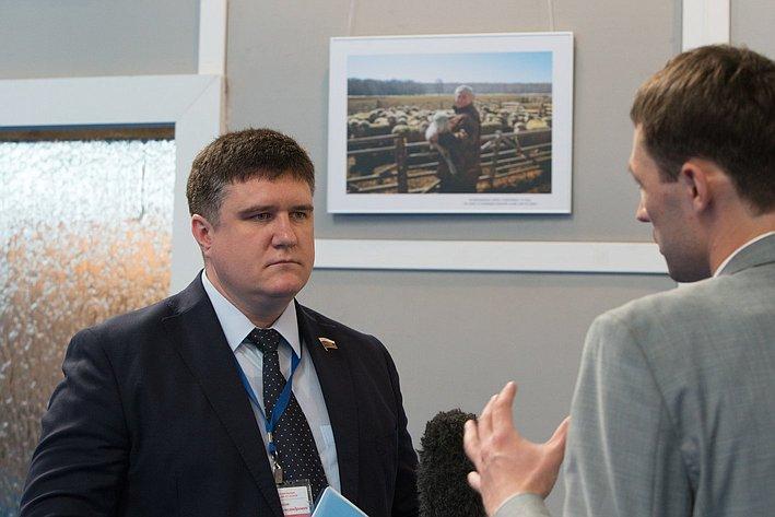 Открытие Форума социальных инноваций в Омске Чернышев