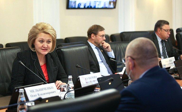 Заседание Научно-экспертного совета при Председателе СФ