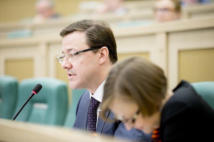 373-е Заседание Совета Федерации Азаров