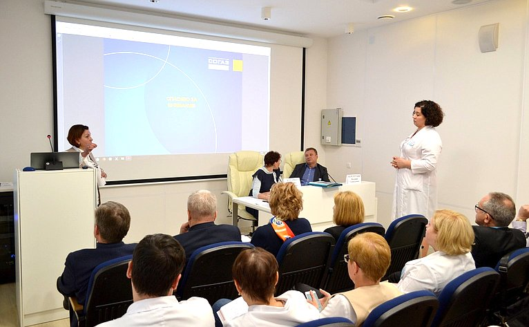 Т. Кусайко провела рабочее совещание, посвященное совершенствованию медицинского страхования вМурманской области