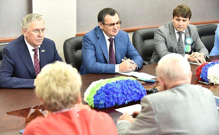 Рабочая встреча сруководством Государственного Совета РеспубликиКоми