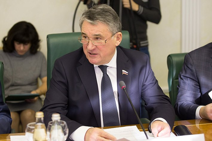 Заседание Комитета общественной поддержки жителей Юго-Востока Украины Воробьев