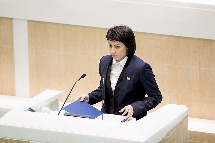 Т. Лебедева 371-е заседание Совета Федерации