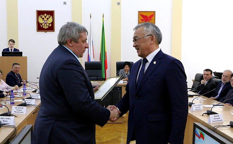 Баир Жамсуев принял участие всовещании, посвященном итогам проведения Дней субъекта вСовете Федерации