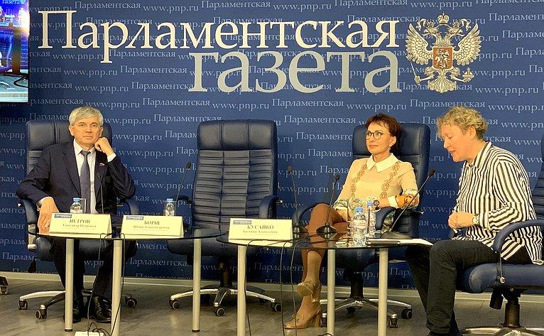 Татьяна Кусайко приняла участие вработе «круглого стола» опроизводственных аптеках
