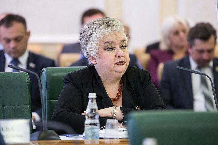 Тихонова. Заседание Совета по местному самоуправлению при верхней палате парламента