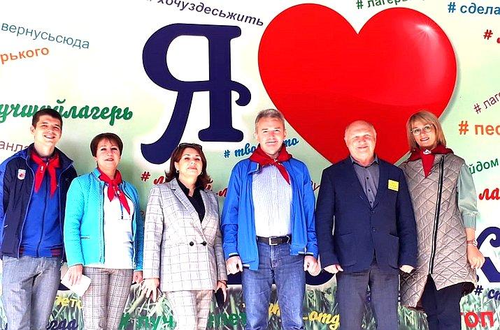 Игорь Каграманян посетил детские лагеря вЯрославской области