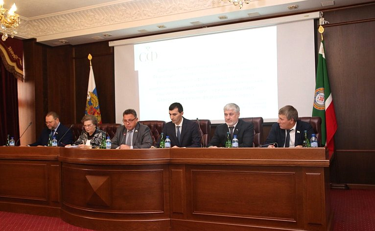Рабочая поездка Временной комиссии СФ посовершенствованию правового регулирования всфере государственного контроля (надзора) имуниципального контроля вРоссийской Федерации вГрозный
