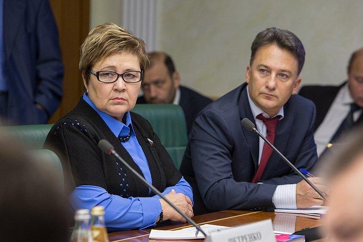 Г. Николаева Заседание Комитета общественной поддержки жителей Юго-Востока Украины