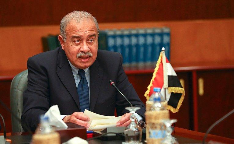 Премьер-министр Арабской Республики Египет Шериф Исмаил