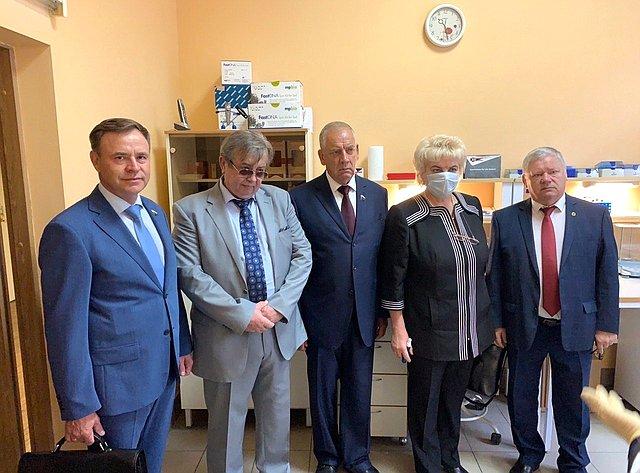 Сергей Митин провел выездное заседание Временной комиссии СФ повопросам законодательного обеспечения развития технико-технологической базы АПК РФ