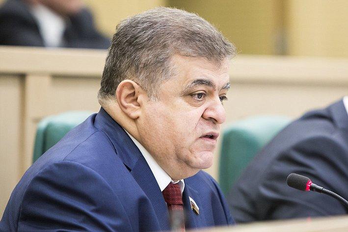 356 заседание СФ Джабаров
