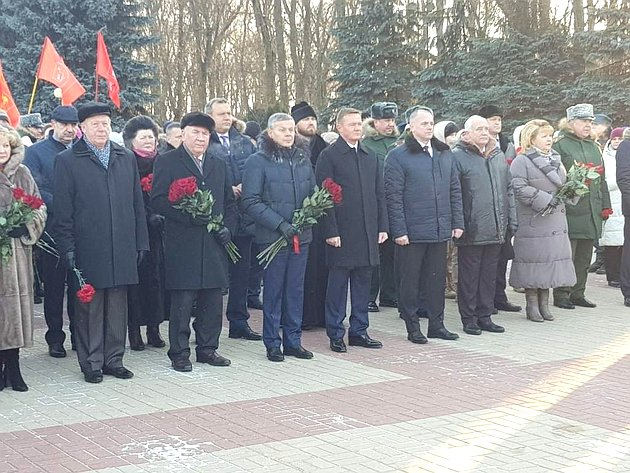 Александр Михайлов вКурской области