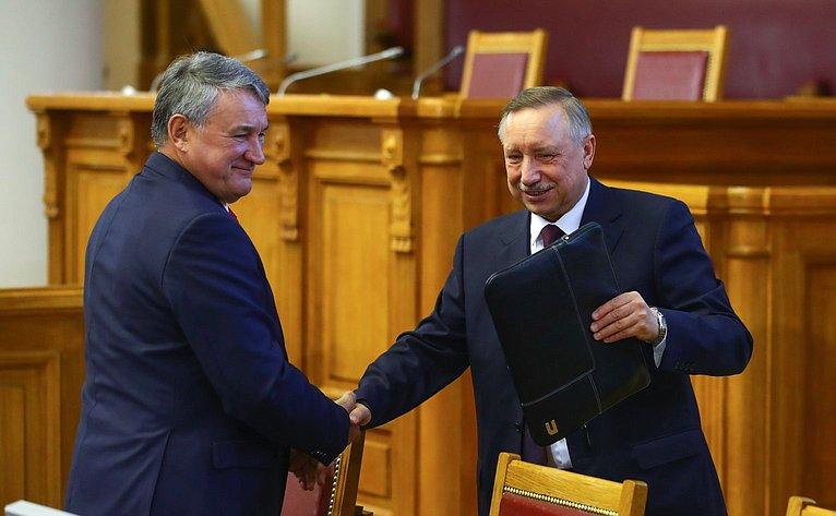 Юрий Воробьев иАлександр Беглов
